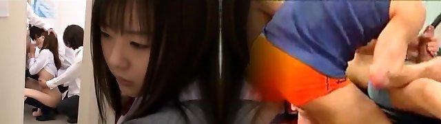 Best Japanese girl Tsubomi, Yu Asakura in Hottest Facial, Dildos/Toys JAV video