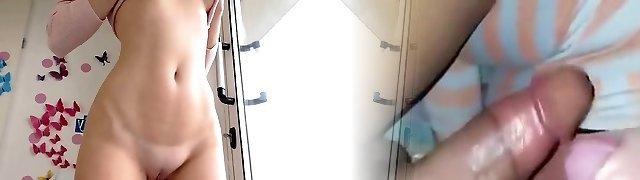Lewd Shaved Camwhore Amazing Webcam Show