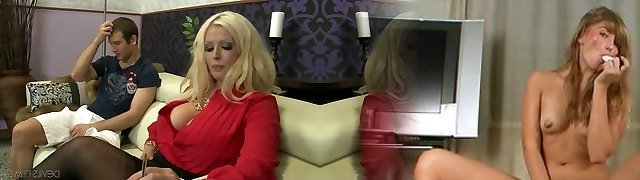 Jaw-pulling down goddess Alura Jenson knows how to give a sloppy bj