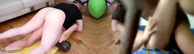 Sex wrestling domination Ass-Slave Yoga