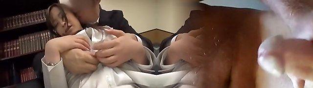 Hottest Asian lady Saki Hatsuki in Amazing Rimming, Couple JAV video
