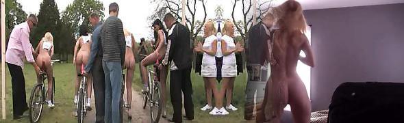 Pornography Olympics Bicycle Race