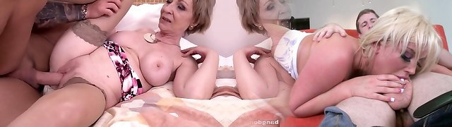 Sizzling milf and her younger paramour 869