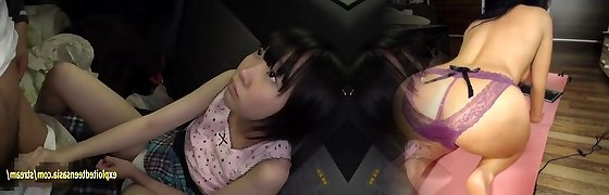 Cute Jav Idol Rin Aoki Fucks Elderly Man In Back Of Camper She Looks So Virginal With Her Schoolgirl Bob