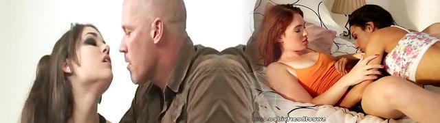 Mark Devis and  Sasha Grey in xxx punishment