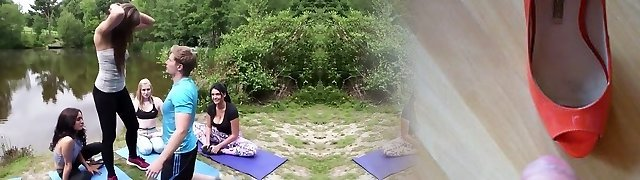 Full Salute during yoga