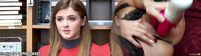 Inked nubile Rosalyn Sphinx poked before office facial
