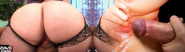 Plus-size Girlz - BIg Booty White Girl Idolizes BBC